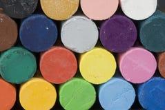 Pastels do petróleo Imagem de Stock