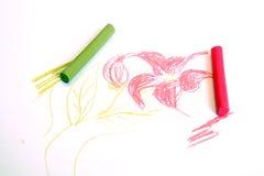 Pastels e flor fotos de stock