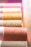 Pastels: Earth Tones stock photo