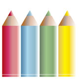Pastels illustration Royalty Free Stock Photo