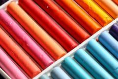 Pastels oil art Stock Image