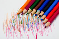 pastelu ołówek Obrazy Stock