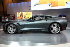 Pastenague 2014 de Chevrolet Corvette Photo libre de droits