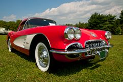 Pastenague 1957 de Chevrolet Corvette photos stock