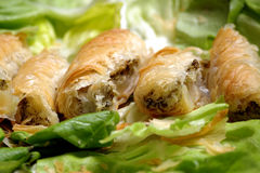 pastery мяса Стоковое Изображение