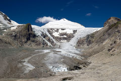 Pasterze dans les Alpes photos stock