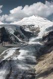 Pasterze glaciär Arkivfoto
