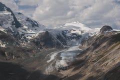 Pasterze glaciär arkivbild