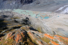 Pasterze Glacier at Grossglockner in Austria Stock Image