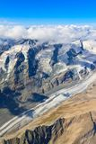 Pasterze Glacier at Grossglockner massif Stock Photos