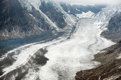 Pasterze glacier Royalty Free Stock Image