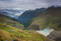 Pasterze glacier Royalty Free Stock Images