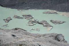 Pasterze glacier Royalty Free Stock Photos