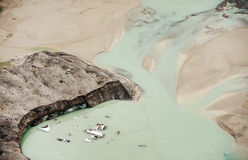 Pasterze glacier Stock Images
