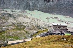Pasterze glacier Stock Image
