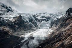 Pasterze-Gletscher von Grossglockner Hohalpenstrasse Alpen, Aust Stockfotografie