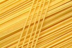 Pastes. Lot of pastes yellow background Royalty Free Stock Images