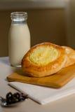 Pastetchen mit Hüttenkäse Stockbilder