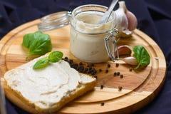 Pastete und Toast Lizenzfreie Stockfotografie