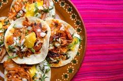 Pasteur mexicain d'Al de Tacos image libre de droits
