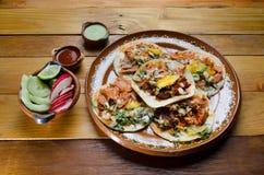 Pasteur traditionnel d'Al de tacos images stock