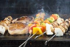 Pasti 1 del barbecue Fotografia Stock