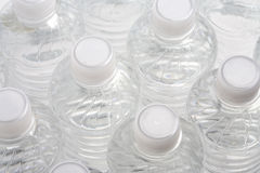 Pastic Bottles of Water Royalty Free Stock Photo