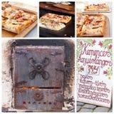 In pasticceria al forno della fornace Fotografia Stock