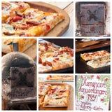 In pasticceria al forno della fornace Fotografia Stock Libera da Diritti
