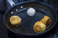 Pasticceria, alimento, dolce, ciambella, panino, preparazione Fotografie Stock Libere da Diritti