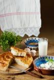 Pasticceria casalinga del formaggio Fotografia Stock Libera da Diritti