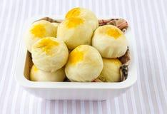Pasticceria cinese o dolce tailandese tradizionale Fotografia Stock