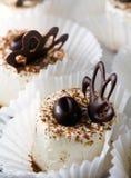 Pasticceria con cioccolato Immagini Stock