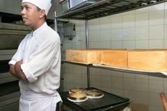 Pasticceria del cuoco unico Fotografie Stock