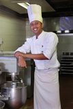 Pasticceria del cuoco unico Fotografia Stock Libera da Diritti