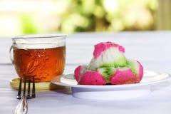 Pasticceria - dolce tradizionale (bikang) Immagini Stock Libere da Diritti