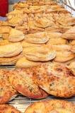 Pasticceria fresca dei croissant Immagini Stock