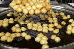 Pasticceria turca tradizionale: Lokma Fotografia Stock Libera da Diritti