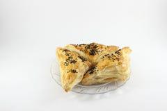 Pasticcerie con formaggio farcito Fotografia Stock