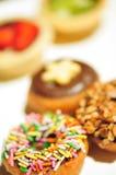 Pasticcerie del dessert - ciambelle Fotografie Stock