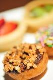 Pasticcerie del dessert - ciambelle Immagini Stock