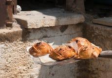 Pasticcerie del formaggio di Pasqua immagini stock libere da diritti