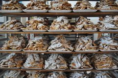 Pasticcerie e biscotti fotografia stock libera da diritti