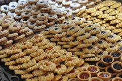Pasticcerie e biscotti fotografia stock