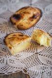 Pasticciotto leccese gebakje Stock Foto