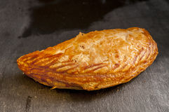 Pastie on a Grey Background Stock Image