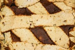 Pastiera dulce napolitano foto de archivo
