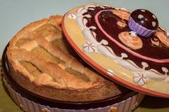 Pastiera Napoletana et x28 ; version& x29 de vegan ; Image libre de droits