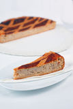 Pastiera Pie of Ricotta and Grain Stock Photography