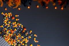 Pastillas de caramelo y luces imágenes de archivo libres de regalías